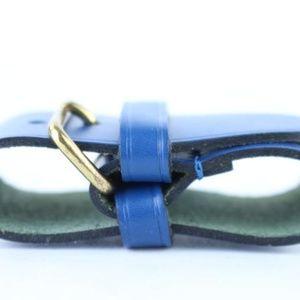 5b1b5aec24f6 Louis Vuitton Accessories - Blue Leather Poignet Belt Handle Fastener 4lj014